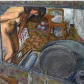 Pierre Bonnard: Effet de glace (Le Tub), 1909, Öl auf Leinwand, 73 x 84,5 cm, Privatsammlung, Winterthur, Villa Flora © VG Bildkunst, Bonn 2015, Foto: Reto Pedrini, Zürich