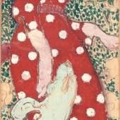 Pierre Bonnard Frauen im Garten, 1890/91 Leimfarben über Kohle, Bleistift und weisse Kreide auf Papier, vierteilig, je 154 x 47 cm Kunsthaus Zürich, Vereinigung Zürcher Kunstfreunde, Geschenk Ernst Gamper, 1984