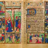 21 STUNDENBUCH Lateinische Handschrift auf geglättetem Perga- ment. Flandern(?), um 1460. CHF 70 000 / 90 000