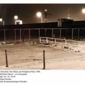 Christian Borchert, Die Mauer am Potsdammer Platz 1988, Zyklus Berliner Mauer, s/w-Fotografie Kunstfonds, Inv. Nr. 92/96 Foto: Stefanie Recsko © Staatliche Kunstsammlung Dresden