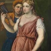 Paris Bordone (1500 - 1571) Allegorie der Vanitas, Öl auf Leinwand, 87,5 x 72 cm € 100.000 - 150.000