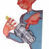 Bosch Werbeschild Rufpreis € 120