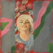Pauline Boty Colour Her Gone  1962  Öl auf Leinwand 121,9 x 121,9 cm  © Wolverhampton Art Gallery
