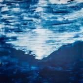 Herbert Brandl, Monotypie, 93 x 65,5 cm, 2011
