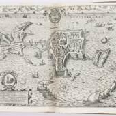 Braun, G. u. F. Hogenberg. Civitates orbis terrarum. Bd. 1-5 (von 6). Köln, B. Buchholz, 1599  Schätzpreis:60.000 EUR