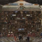 JOHANN MICHAEL BRETSCHNEIDER, GEMÄLDEGALERIE, UM 1715  Leinwand © Bayerische Staatsgemäldesammlungen, Staatsgalerie in der Neuen Residenz Bamberg