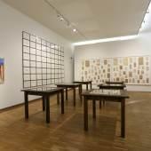 """Ausstellungsansicht, """"Das gute alte West-Berlin"""", 2016, Foto: Universalmuseum Joanneum/J.J. Kucek"""