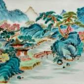 Brushpot, Qing dynasty