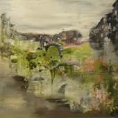 Soraya Heuer, Struktur Paste & Acryl auf Leinwand.