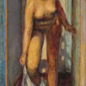 Bonnard, Femme se déshabillant