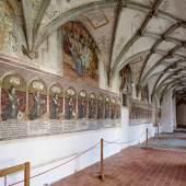 Kreuzgang im ehemaligen Zisterzienserinnenkloster in Altheim © R. Rossner/Deutsche Stiftung Denkmalschutz