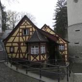 Blick auf die ehemalige Schlossmühle in Meersburg * Foto: Holzbau Schmäh
