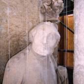 Chorpfeilerfigur am Ulmer Münster (c) Harry Linge/Deutsche Stiftung Denkmalschutz