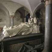 Fürstengrab in der Koháry-Gruft in der St. Augustinkirche in Coburg © Deutsche Stiftung Denkmalschutz/Bolz