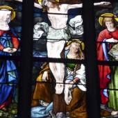 Fenster der Stadtpfarrkirche St. Johannes in Dingolfing © Deutsche Stiftung Denkmalschutz/Schabe