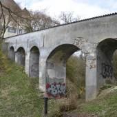Brücke von Schloss Eisenburg in Memmingen © Erbengemeinschaft Forster/Memmingen