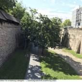 Stadtgrabenstützmauer in Nürnberg © Patricia Koch/Servicebetrieb Öffentlicher Raum Nürnberg