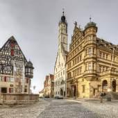 Rathaus in Rothenburg ob der Tauber © Roland Rossner/Deutsche Stiftung Denkmalschutz