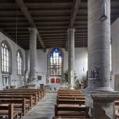 Innenraum der St. Johanniskirche in Rothenburg ob der Tauber © R. Rossner/Deutsche Stiftung Denkmalschutz