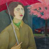 Brigitte Trieb, Regen im Frühling, 2016 100 x 80 cm