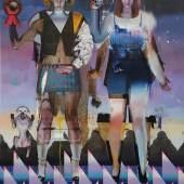 Rayk Goetze. Ausführende Organe. 2017. Öl auf Leinwand. 200 x 150 cm.