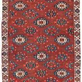 Lot 161, Early Igdir Main Carpet, 18th century or before, Starting bid € 5000