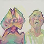 Maria Lassnig, Zwei Arten zu sein (Doppelselbstporträt), 2000 © Maria Lassnig Stiftung