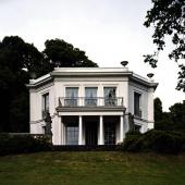 Cäsar Pinnaus letztes Wohnhaus in Baurs Park in Hamburg 3, 2005 Foto: Oliver Heissner