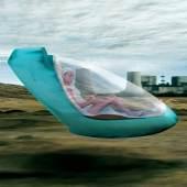 Hussein Chalayan, Place to Passage, 2003, 5 Screen Film Installation, 12 min Loop, Kunstmuseum Wolfsburg, © Hussein Chalayan 2003, Musik: Jean Paul Dessy, Filmstills: Hussein Chalayan / neutral 2003.