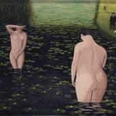 Camille Bombois, Baigneuses surprises (Suprised bathers), 1930 (est. £30,000-40,000)
