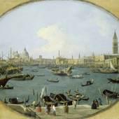 Giovanni Antonio Canal, gen. Canaletto (1697-1768): Ansicht des Markusbeckens in Venedig, 1735, Städel Museum, Frankfurt am Main