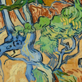 Tree Roots  Vincent van Gogh (1853 - 1890), Auvers-sur-Oise, July 1890  oil on canvas, 50.3 cm x 100.1 cm  Credits (obliged to state): Van Gogh Museum, Amsterdam (Vincent van Gogh Foundation)