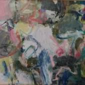 """Bild 19: Carla Chlebarov, Klassiker, Öl auf Leinwand 2012, 50&40 cm mit """"klassischem"""" Rahmen: 900 €"""