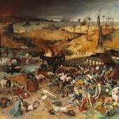 Pieter Bruegel d. Ä. (um 1525/30 vermutlich in Breugel oder Antwerpen - 1569 Brüssel) Triumph des Todes 1562/63, 117 x 162 cm Madrid, Museo Nacional del Prado © Museo Nacional del Prado