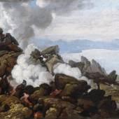 Franz Ludwig Catel (1778–1856) Der Krater des Vesuvs, April 1812