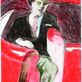 CE 004 MAN LEAVING CAR (c) James Franics Gill