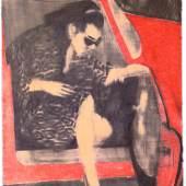 CE 007 WOMAN LEAVING RED CAR (c) James Franics Gill