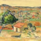 Paul Cézanne: Plaine provençale, 1883-85, Öl auf Leinwand, 58,5 x 81 cm, Hahnloser/Jaeggli-Stiftung, Winterthur, Foto: Reto Pedrini, Zürich