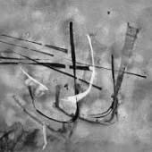 """Chargesheimers abstrakte """"Lichtgrafik. Monoskripturen"""", ein Album mit 10 unikaten Photoarbeiten aus dem Jahr 1961."""