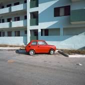 Charles Johnstone, Little Red Car, Cuba 2006