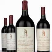 Château Latour 1959, 1 MEJE (2.25L), est. HK$85,000 – 110,000 1947, 1 magnum, est. HK$40,000 – 80,000 1945, 2 bottles, est. HK$60,000 – 65,000