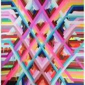 Circle Culture Gallery - Maya Hayuk - Glistener 4460, 2014