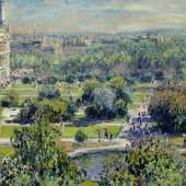 Claude Monet, Die Tuilerien, 1876, Musée Marmottan Monet, Paris. © Musée Marmottan Monet, Paris / Bridgeman Images