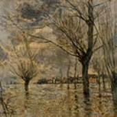 Die Seine bei Vétheuil, 1881 © Eberhard W. Kornfeld, Bern