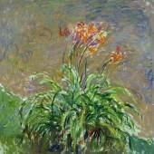 Claude Monet Taglilien, 1914−1917 Öl auf Leinwand Musée Marmottan Monet, Paris / The Bridgeman Art Library