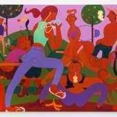 Grace Weaver, Lust for Lite, 2015, Öl auf Leinen, 240 x 200 cm, Foto: Roman März. Courtesy: Soy Capitán, Berlin