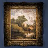 John Constable Study for 'The White Horse', estimate £2-3 million Sotheby's Old Master Evening Sale 3 July 2019