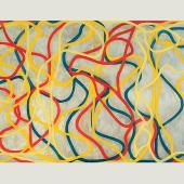 Brice Marden (*1938), Chinese Dancing, 1994 - 1996, Öl auf Leinwand, 155 x 274 cm, UBS Art Collection © 2014 ProLitteris, Zurich