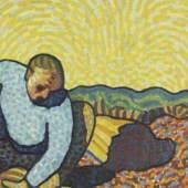 Wilhelm Morgner der Holzarbeiter 1911 fuer Website maximale Groesse Wilhelm Morgner: Der Holzarbeiter, 1911, Kunstmuseum Wilhelm-Morgner-Haus, Soest, Foto: Thomas Drebusch