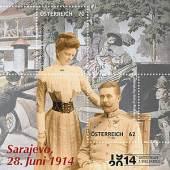 """""""Sarajevo 1914 - 2014"""" durch die Feldpostmeister."""